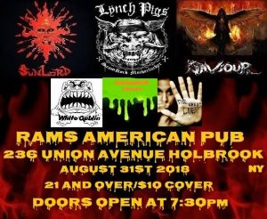 Beast Sound Promotions Presents The Shakedown @ Rams American Pub