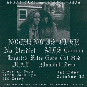 Apsch Family Benefit Show @ Rams American Pub