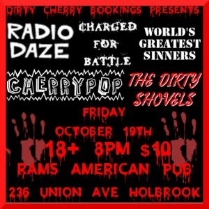 Dirty Cherry Presents: Punk n Roll Halloween at Rams @ Rams American Pub