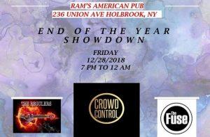 Beast Sound Promotions Presents Deck The Halls @ Rams American Pub