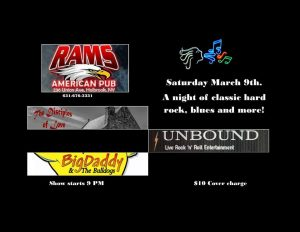 The Night of The Rock Part 3 @ Rams American Pub
