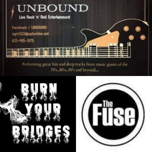 The Fuse, Unbound, Burn Your Bridges @ Rams American Pub