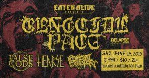 Genocide Pact / False Gods / Hearse / Bowel Erosion @ Rams American Pub