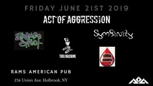 Act of Aggression Live at Rams @ Rams American Pub