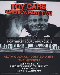 LIE PRESENTS: TOY CARS + AMERICA PART TWO @ Rams American Pub