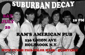 Suburban Decay And Lynch Pigs @ Rams American Pub