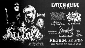 Automb / Polemicist / Chained To The Dead / Kraegloth @ Rams American Pub