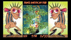 Punk Show! @ Rams American Pub