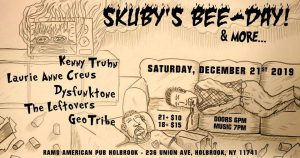 Skuby's Bee-Day Show @ Rams American Pub