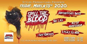 Styles Productions Presents SpilltheBlood @ Rams American Pub