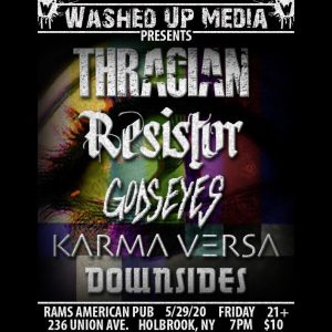 Washed up media presents. @ Rams American Pub