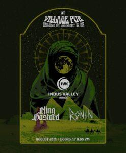 Indus Valley Kings LIVE w/Ronin, King Bastard and Pig Farm at Rams American Pub! @ Rams American Pub