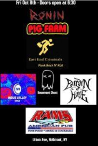 Criminal Activity @ Rams American Pub